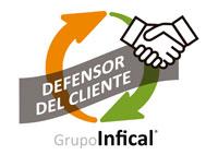 Banner del Defensor del cliente de Grupo INFICAL